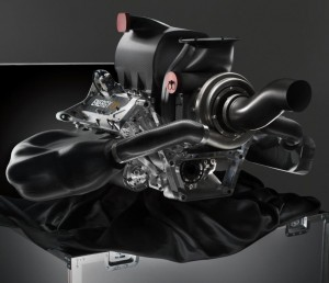 Renault V6 turbocharged engine, the Energy F1-2014, from Renault Sports [5].