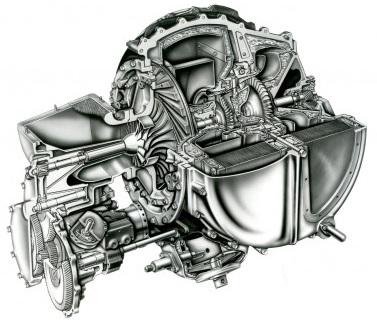 Figure 3 - A 831 Gas Turbine