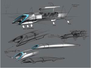 Hyperloop Alpha Conceptual Design Sketch