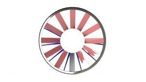 Axial Fan CAD Front