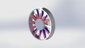 Axial Fan CAD Image