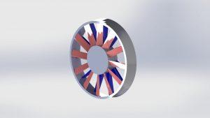 Axial Fan CAD Image
