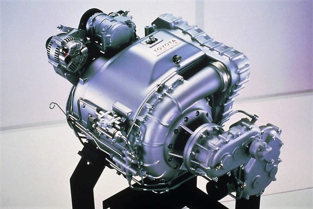Toyota GTV engine