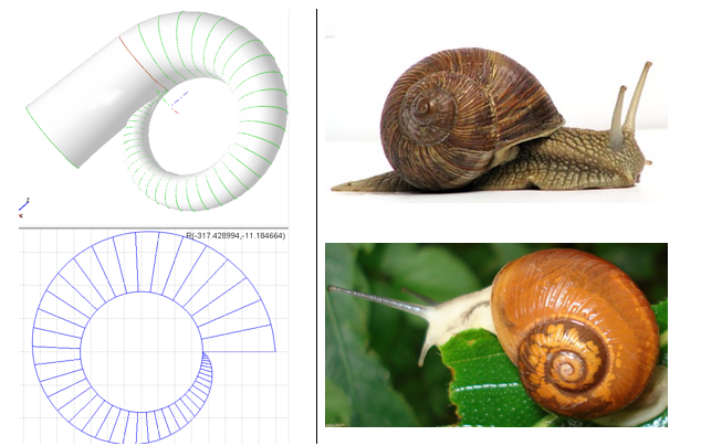 Volute in AxSTREAM with Snail Example