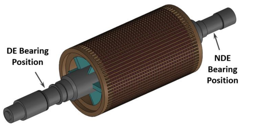 Rotor of 13.5 MW Induction Motor