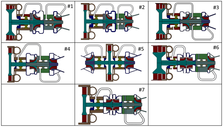 Preliminary Layouts of Turbopumps