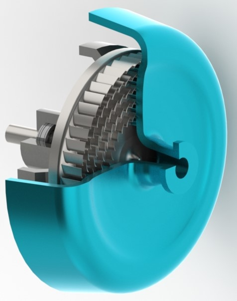 Radial Outflow Turbine