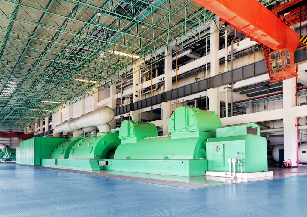 Large thermal power machine