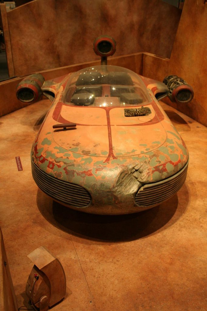 Figure 11 Lukes Landspeeder from the 1977 film