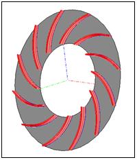 Centrifugal Fan Designed Using