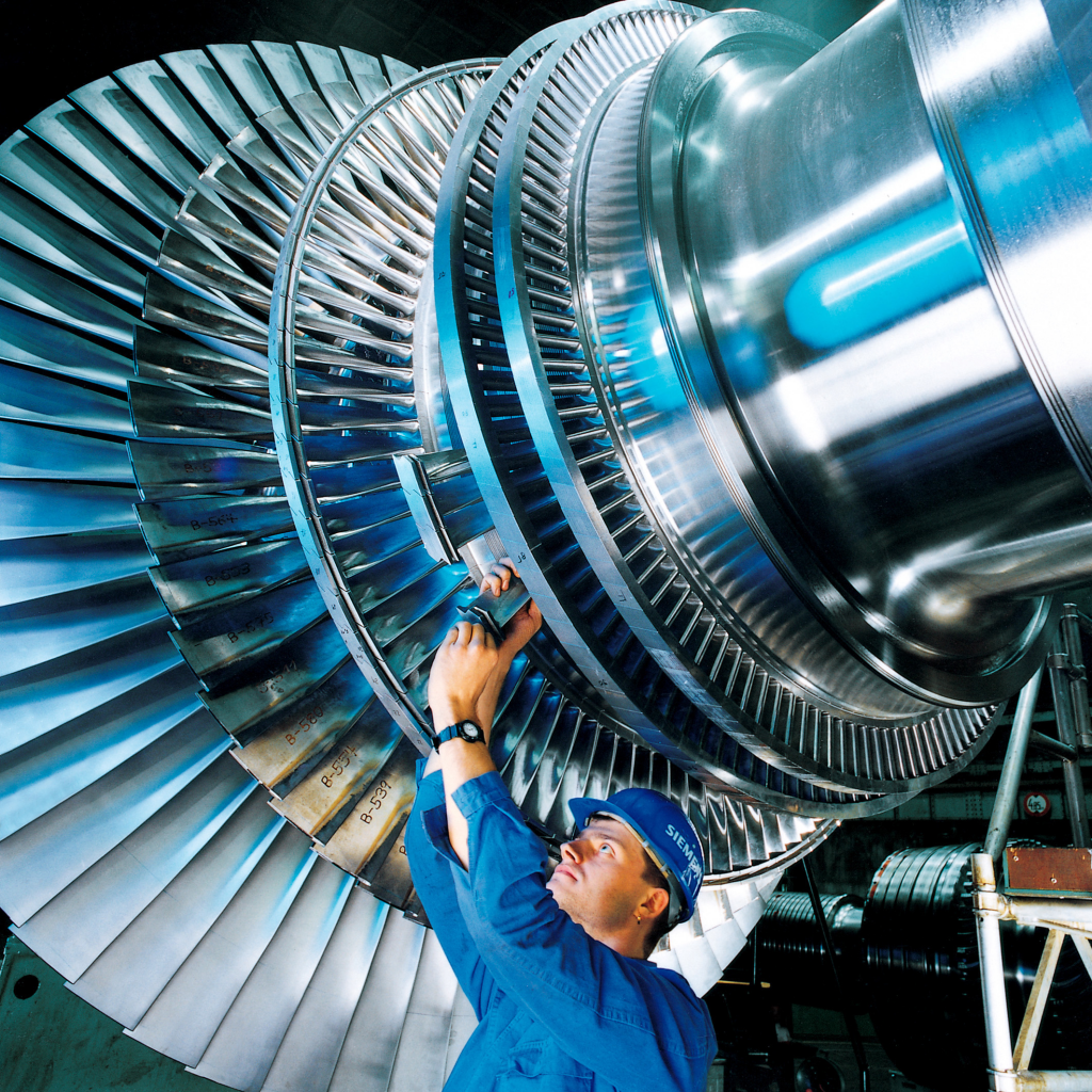 Figure 1 Steam Turbine with Long Last-Stage Blades