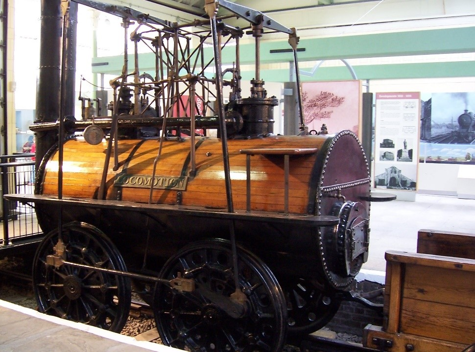 George Stephenson's Locomotion 1 –