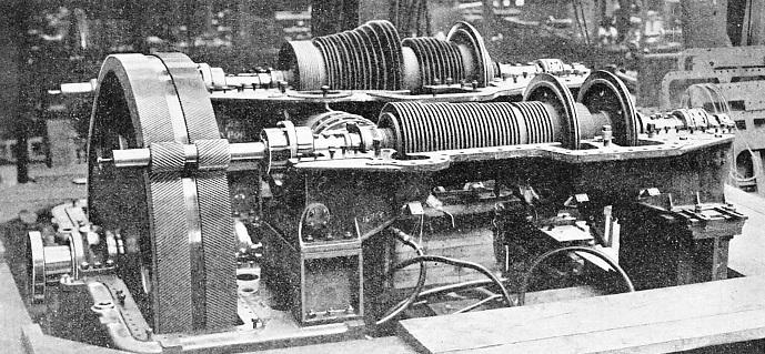 high and low pressure turbine rotors