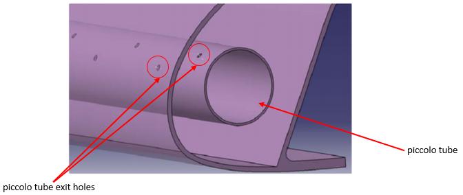 Design of Piccolo Tube