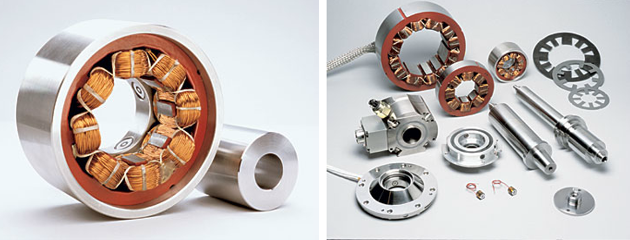 Active Magnetic Bearing and its Components