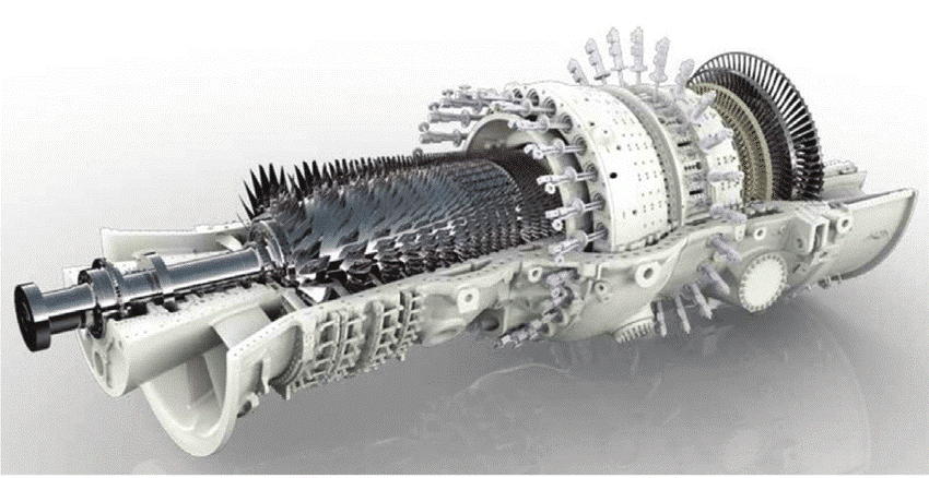 Picture 2 – Heavy Duty Gas Turbine, GT 26
