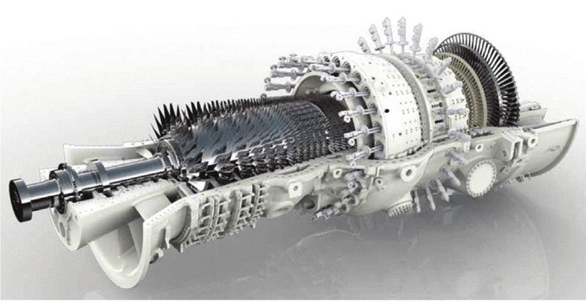 Picture 2 – Heavy Duty Gas Turbine, GT 26