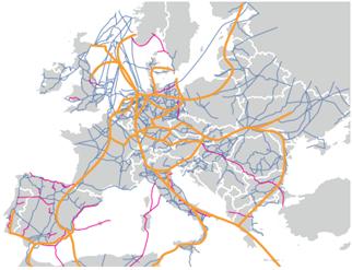 European Transnational Hydrogen Backbone