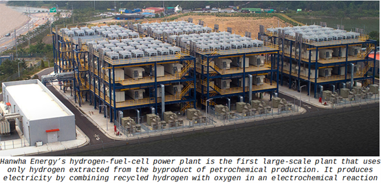 Hydrogen Fuel Cell Power Plant