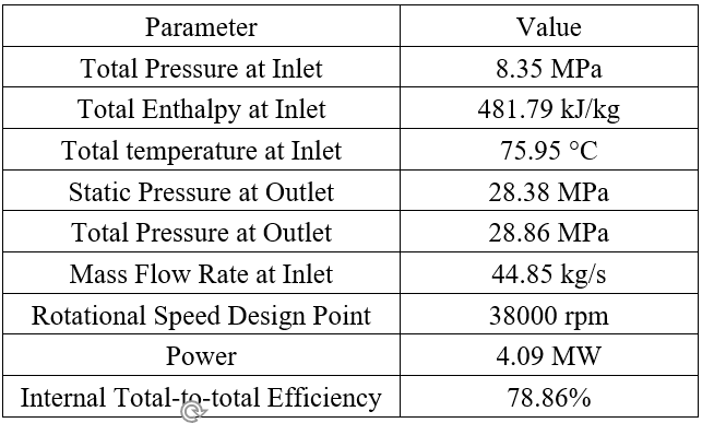 TABLE 5: PRELIMINARY DESIGN OF COMPRESSOR 2