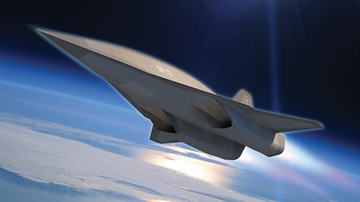 "The Lockheed Martin SR72, also known as ""Son of Blackbird"", image courtesy of Lockheed Martin"