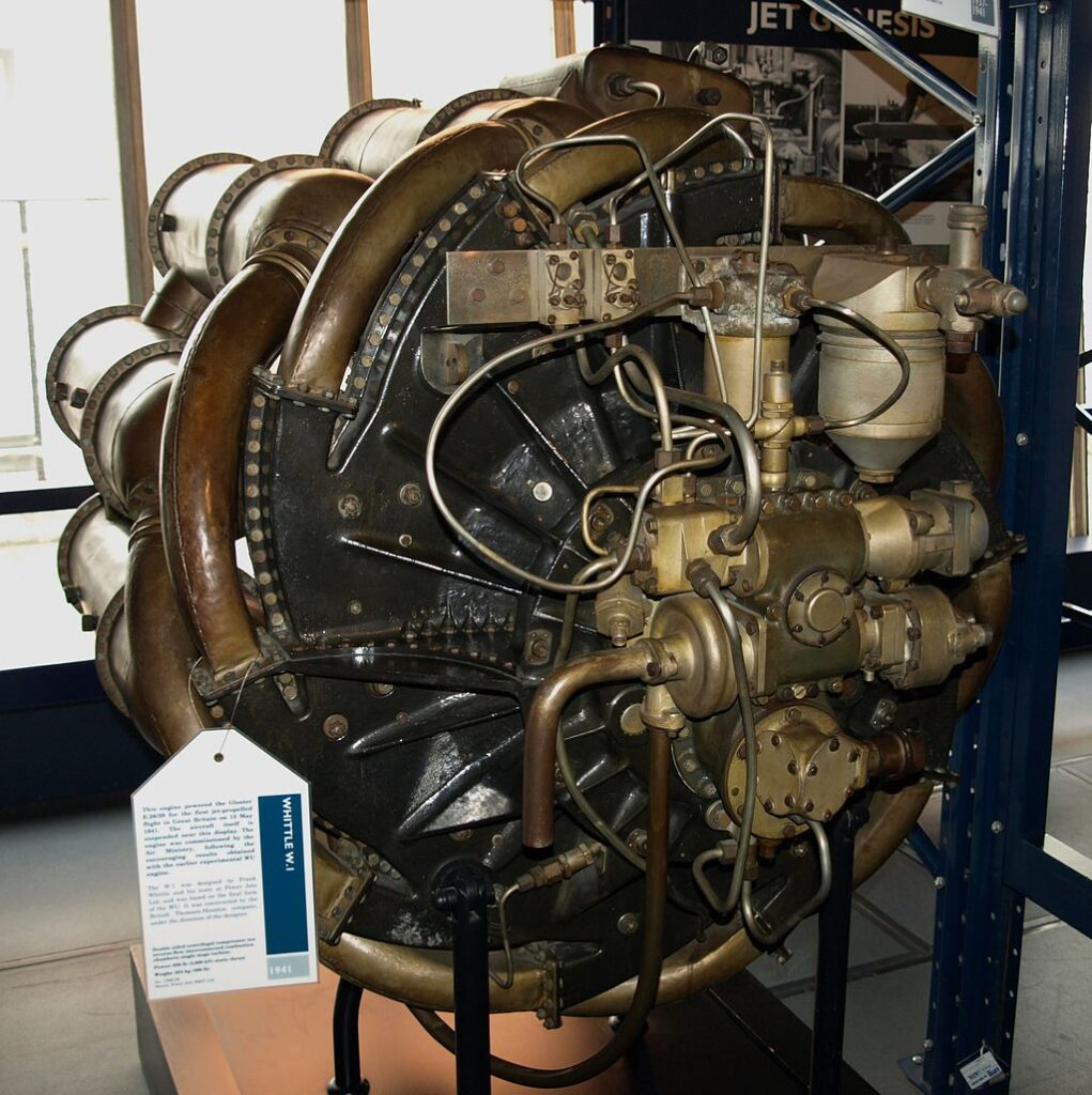 The Power Jets W.1, Sir Frank Whittle's engine