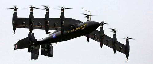 Figure 4 - NASA GL-10 Greased Lightning hybrid aircraft