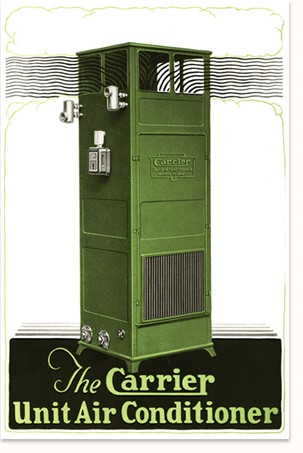 An illustration of the Carrier Unit Air Conditioner